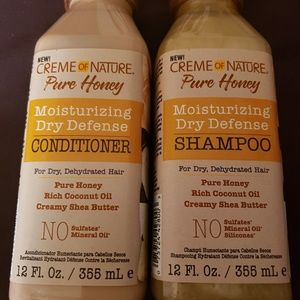 Creme of Nature Pure Honey Hair Products